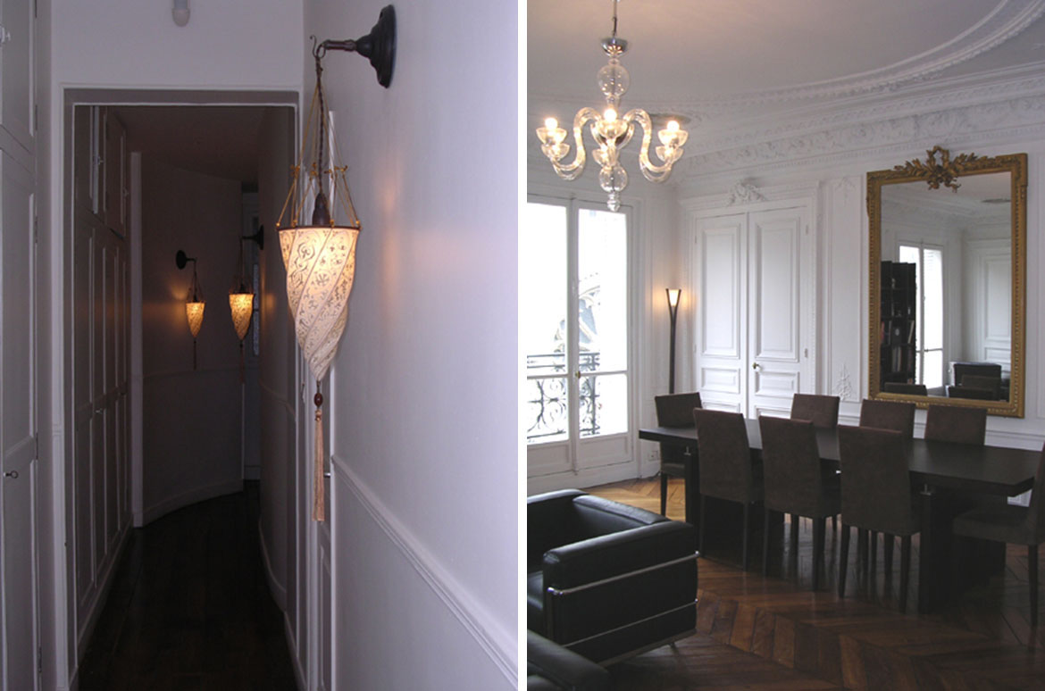 Appartement haussmannien l studio studio d architecture et de design pari - Decoration appartement haussmannien ...