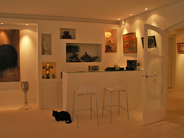 bar appartement. Black Bedroom Furniture Sets. Home Design Ideas
