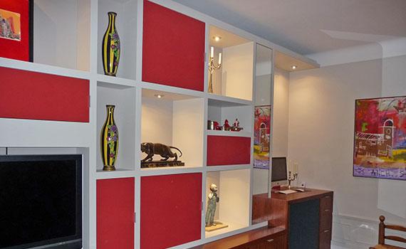bureau biblioth que l studio studio d architecture et de design paris laurence jaffr. Black Bedroom Furniture Sets. Home Design Ideas